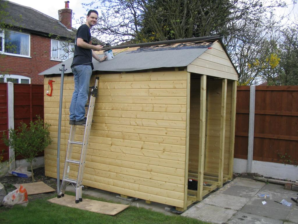 Building a shed for How to shingle a shed