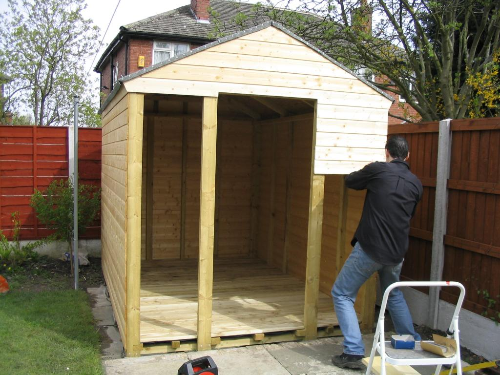 building a shed. Black Bedroom Furniture Sets. Home Design Ideas